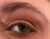 Raw Sienna Eye