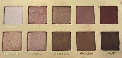 Unzipped Palette